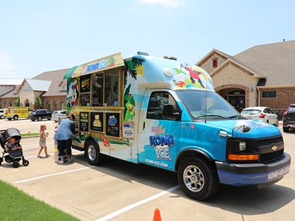 Event photo for Pediatric dentist Dr. Dana Doan's office in Frisco, TX also serving the surrounding cities of McKinney, Plano, Little Elm, Prosper and The Colony, TX.